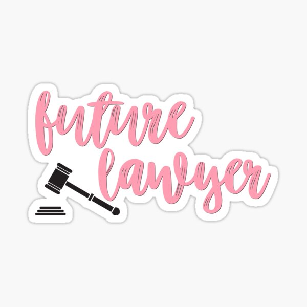 Future Lawyer Sticker