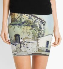 Taking a Break in Caceres Mini Skirt