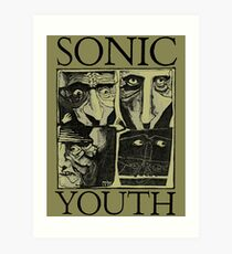 Sonic Youth Kunstdruck