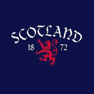 Vintage Scottish Football Lion by IDDInc