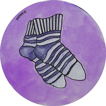 Striped socks by shonik
