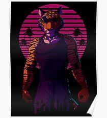 Midnight Animal - Tiger Poster