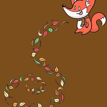 Fox of Fall by Jamtastic