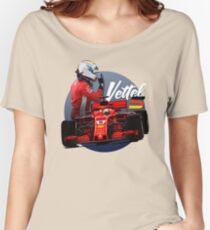 Sebastian Vettel Women's Relaxed Fit T-Shirt