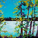 OLE'S LAKE CARD by Alison Newth