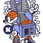Arcade Basketball Game cartoon by wearitout