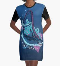 MEGA MAKO MADNESS Roller Coaster Seaworld Orlando Theme Park Ride Graphic T-Shirt Dress