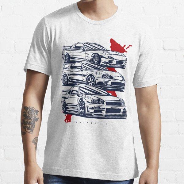 Équipage JDM. RX7, Skyline GTR, Supra T-shirt essentiel