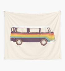 Van - Rainbow Wall Tapestry