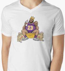The Burger King Men's V-Neck T-Shirt
