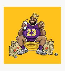 The Burger King Photographic Print