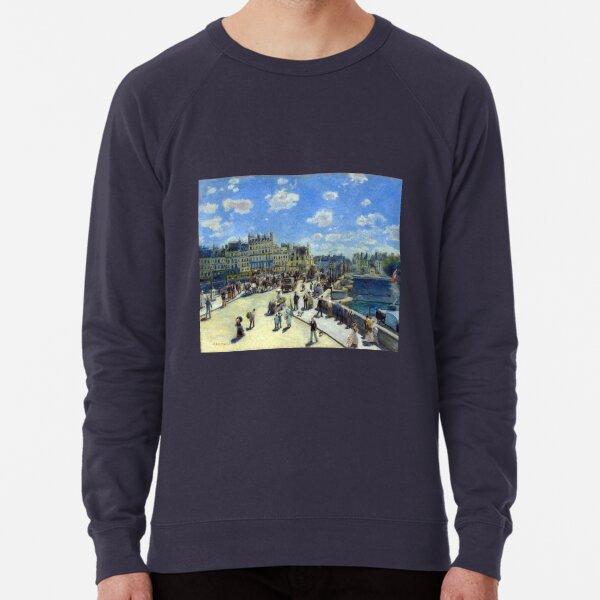 Auguste Renoir Pont Neuf, Paris Lightweight Sweatshirt