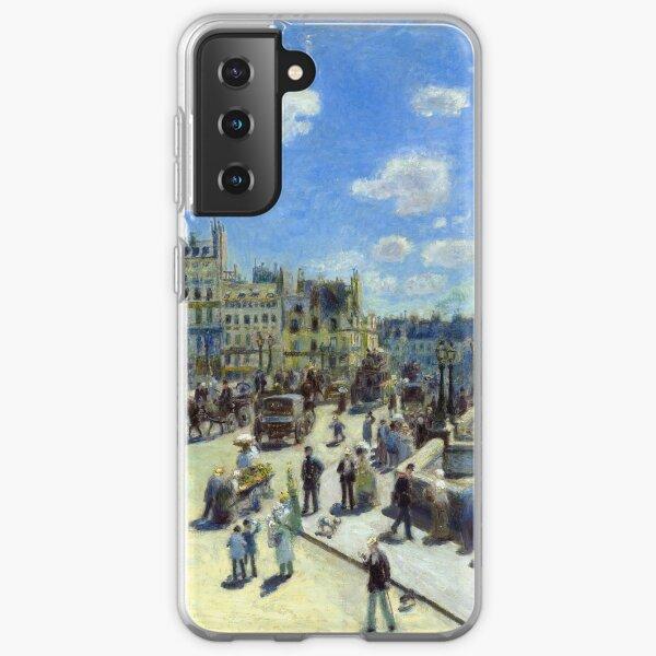 Auguste Renoir Pont Neuf, Paris Samsung Galaxy Soft Case