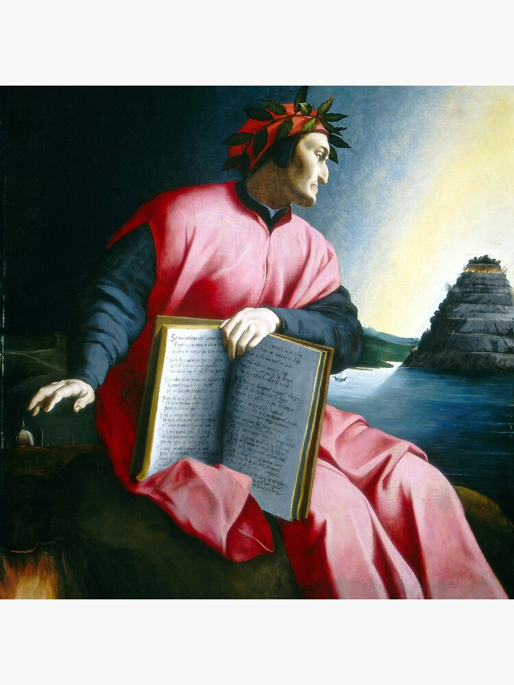 Allegorical Portrait of Dante by pdgraphics