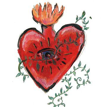 The Heart by decio