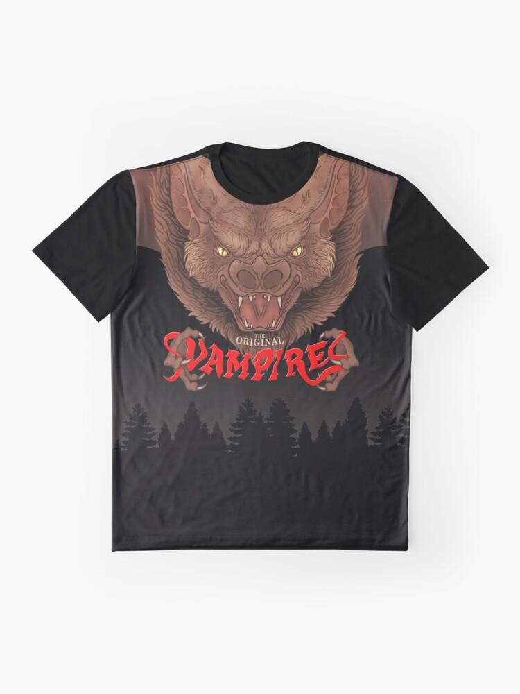Alternate view of The Original Vampires of 1990 Graphic T-Shirt
