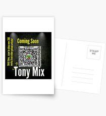 Tony Mix  Postcards