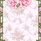 Shabby Chic Pretty Pink Peonies by ThatsMyStyle