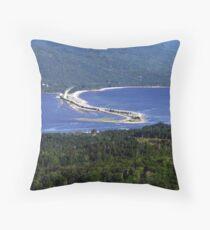 Englishtown-Cape Breton Throw Pillow
