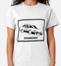 Eurobeat verstärkt AE86 Kansei Dorifto Initial D Car Classic T-Shirt