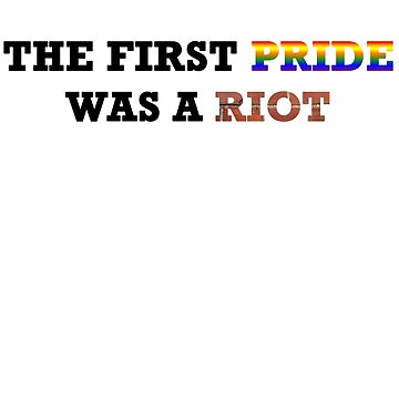 Pride Riot Wall by Tamz-T