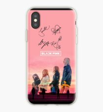 BLACKPINK autograph signature signed design~stay with me iPhone Case
