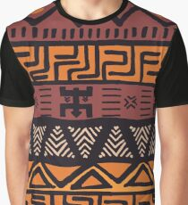 Colorful Bohemian Pattern Graphic T-Shirt