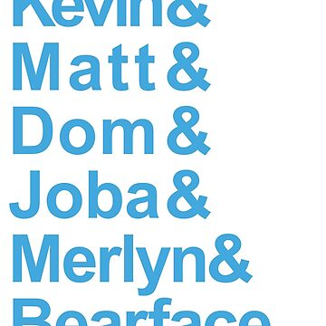 Brockhampton List of Vocalists Boy Band Blue by SteinsFate