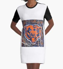 Chicago Bears Foot Ball Ala Pollack  Graphic T-Shirt Dress