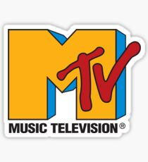 MTV logo sticker Sticker