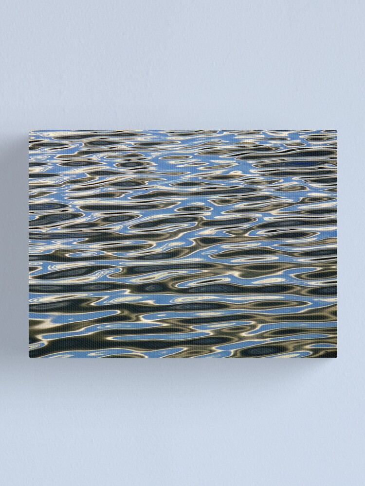 Alternate view of Black and Blue 3 Canvas Print