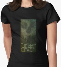 Lost Citadel Skull (green) Women's Fitted T-Shirt
