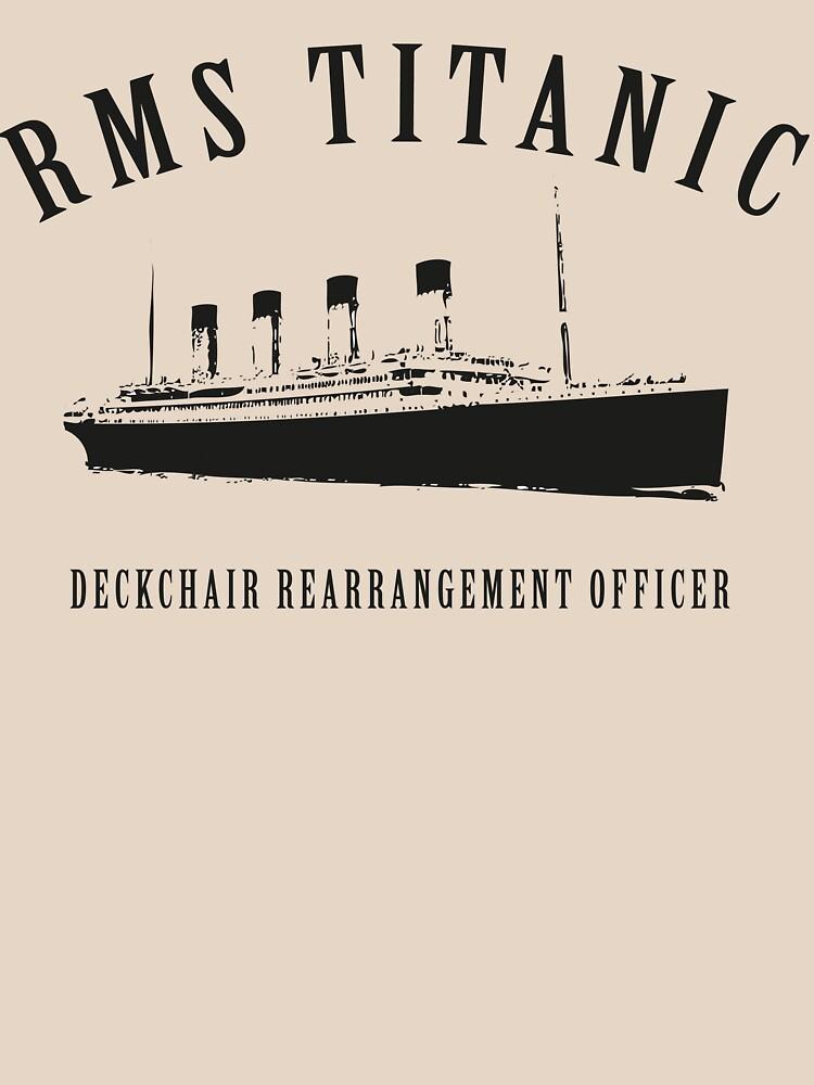 RMS Titanic Deckchair Rearrangement Officer by stephenhoper