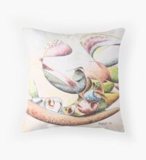"""Full Force - watercolor - 10"""" x 8"""" Throw Pillow"""