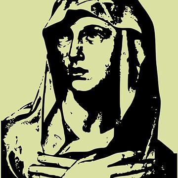 Virgin Mary by Slinky-Reebs