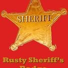 Rusty Sheriff's Badge by benjy