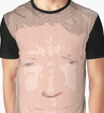 WASTEMAN - Donald Trump's Hidden Message (View up close for effect) Graphic T-Shirt