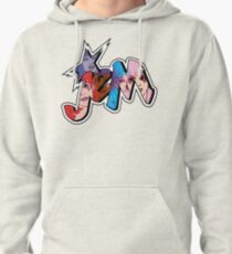 Jem and the Holograms - Logo - Group Color Pullover Hoodie