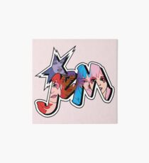 Jem and the Holograms - Logo - Group Color Art Board