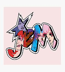 Jem and the Holograms - Logo - Group Color Photographic Print