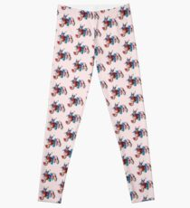 Jem and the Holograms - Logo - Group Color Leggings