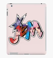 Jem and the Holograms - Logo - Group Color iPad Case/Skin