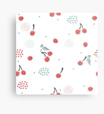 My Lovely Cherries Metal Print