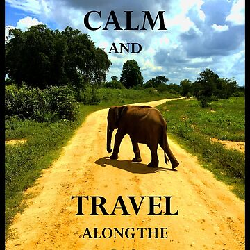 KEEP CALM and TRAVEL on the ROAD by happyTshirt