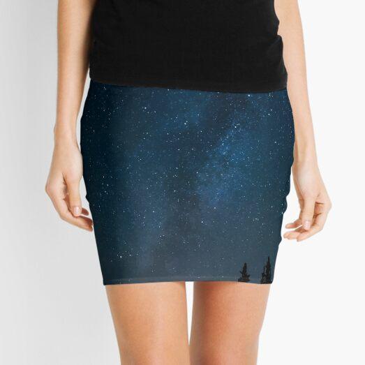 Night sky stars Mini Skirt