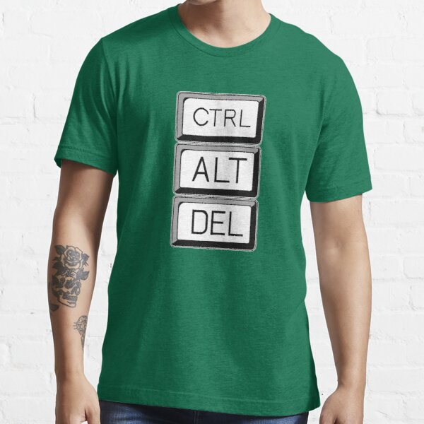 Control Alt Delete Computer User Art Essential T-Shirt