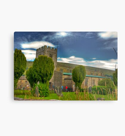 Dent Church - Dentdale. Metal Print