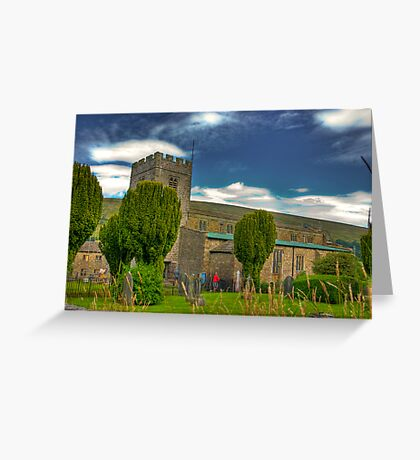 Dent Church - Dentdale. Greeting Card