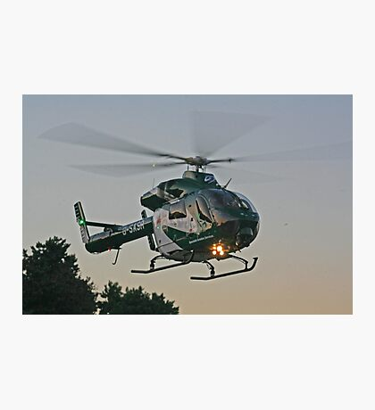 G-SASR Air Ambulance Photographic Print