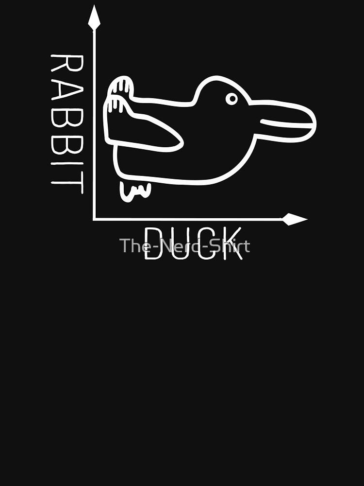 Wittgenstein Rabbit Duck Illusion by The-Nerd-Shirt